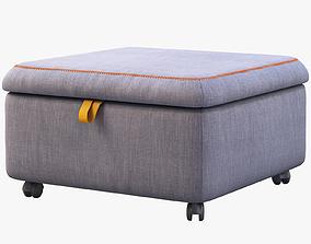 Ikea Slakt Storage seat section 3D