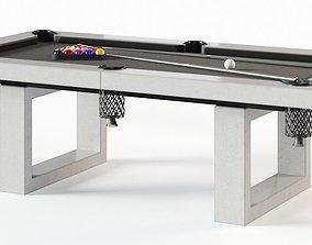 James De Wulf Pool Table 3D