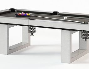James De Wulf Pool Table 3D