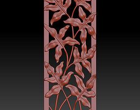 floral ornament 3 3D printable model