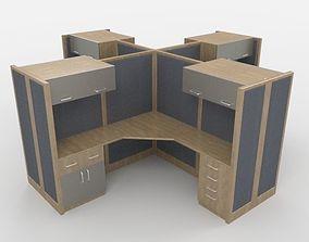 Office Workstation 02 3D