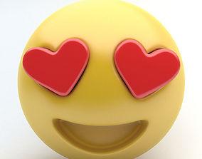 3D model EMOJI LOVE
