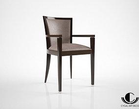 3D model Cygal Art Deco ZST001A chair