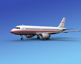3D model Airbus A320 Corporate 3