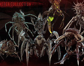 Cool monster insect collection 3D