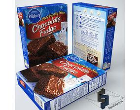 Pillsbury Chocolate Fudge Mix 3D model