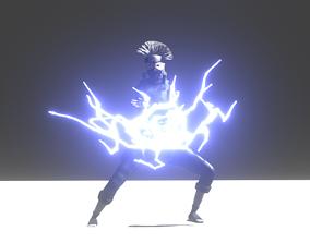 3D model KAKASHI HATEKE BY KXBG