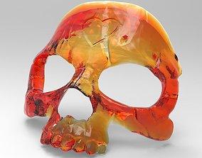 stl Mask - skull 3D print model