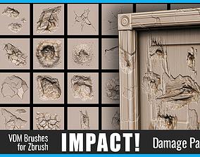 Impact Damage Pack 3D model