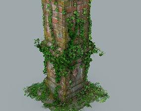 Old pillar 3D model