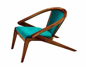 AROUND the TREE PORTUGUESE ROOTS LOUNGE CHAIR 3D