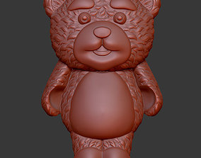 Lollipop bear 3D print model