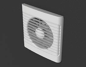 Room Interior Fan 4 3D model