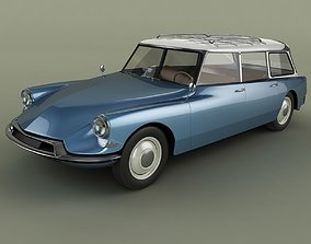 Citroen DS 19 Break familiale 3D model