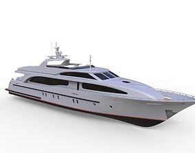 3D model Concept Motor Yacht Enigma