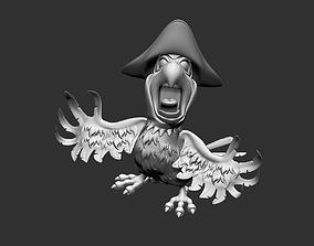 Parrot bird 3D model