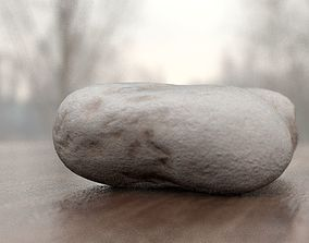 3D Limestone Rock scanned