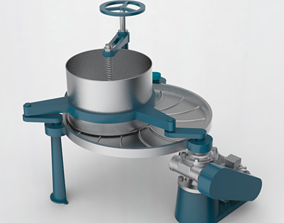 3D Tea rubbing machine
