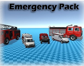 Emergency Pack 3D model