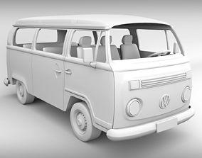 Volkswagen Kombi 2003 - For 3D Printing