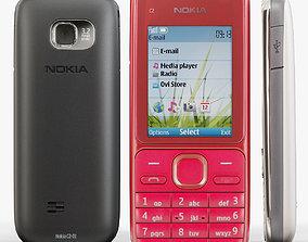 Nokia C2-01 3D model