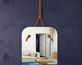 Sander Wall Mirror 3D