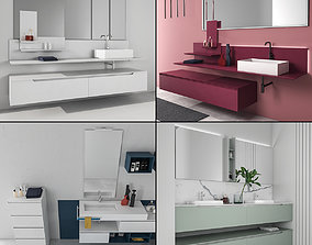 3D Bathroom furniture collection 8