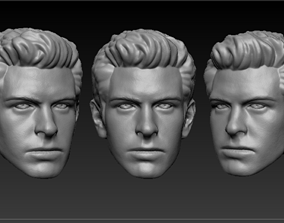 3D print model Head sculpt Amazing Spiderman Peter Parker