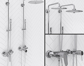3D model Grohe Euphoria Concetto and Eurodisc