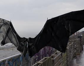 3D model Nightmare Wing Bat Demon Creature