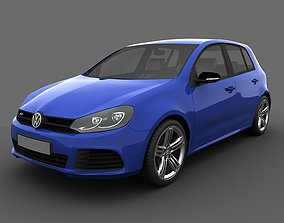 Volkswagen Golf R 5doors 2010 3D model