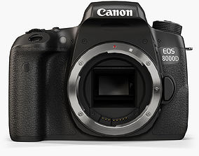 Canon EOS 8000D 3D asset