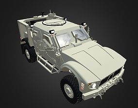 3D asset game-ready Oshkosh L-ATV