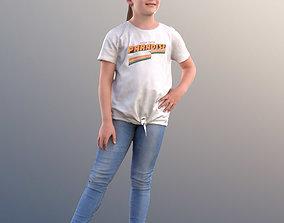3D model 10263 Matthilda - Girl Standing With Hand On Hips