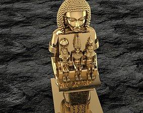 Ancient Egyptian Pharaoh 27 3D print model