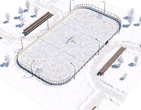 Hockey Court 3D
