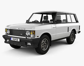 3D model Land Rover Range Rover 3-door 1986