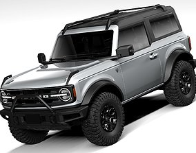 Ford Bronco First Edition 2door 2021 3D model