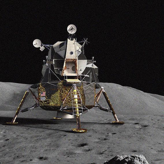 Lunar module of Apollo 11