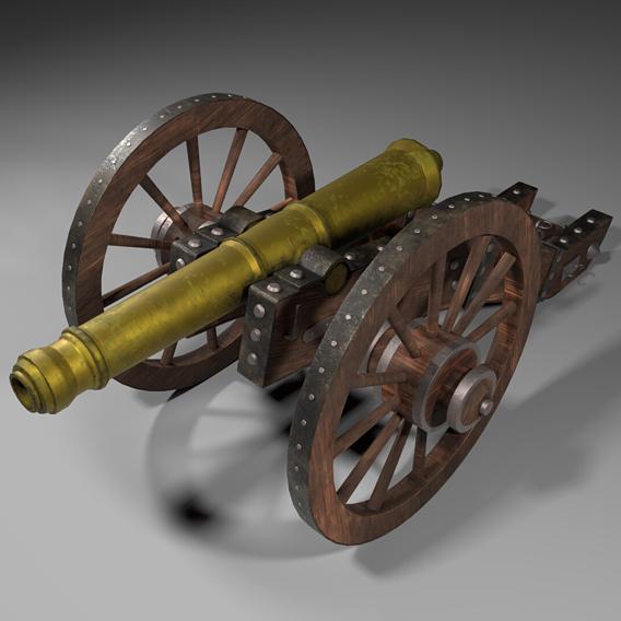 Cannon, XV century