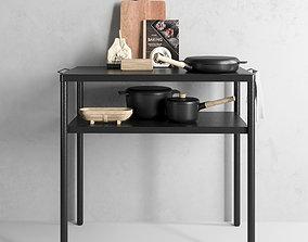 Eva solo kitchen set 3D model