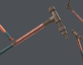 3D asset Pipe Weapon PBR