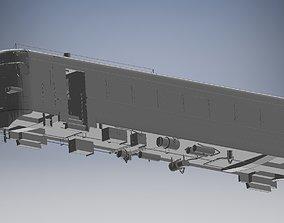 electric train small copy exact 3D