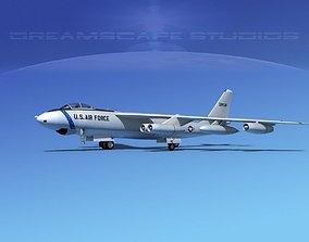 3D model Boeing B-47E Stratojet V01