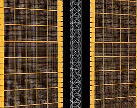 3D model Solar Array Panel ISS