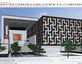 Sketchup Cultural center G5 3D model