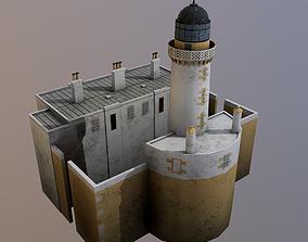 Little Ross - Lighthouse 3D asset