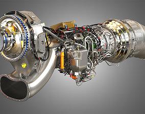 Airbus Engine TP400-D6 - 3d Engine Model