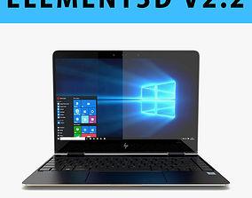 E3D - New HP Spectre x360 13-inch 2017 Laptop 3D