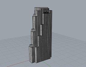Rockefeller Center 3D printable model